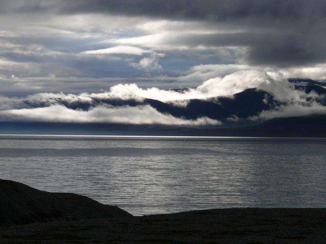 Billefjorden. Svalbard. Norvège. Juillet 2008.