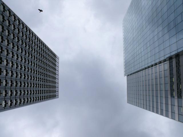 La Défense. Paris. Août 2008.