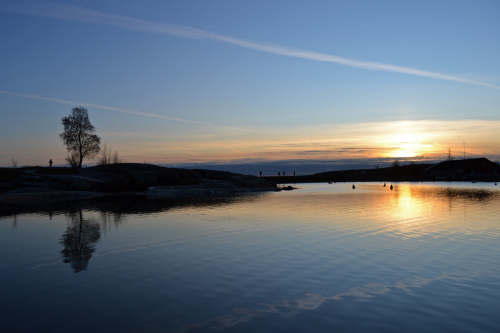 Helsinki. Finlande. Novembre 2011.