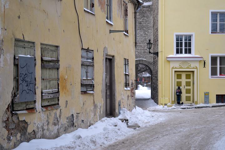 Tallinn. Estonie. Février 2012.