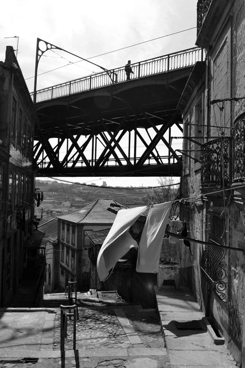 Pont Luis I. Porto. Portugal. Mars 2012.