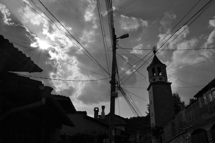 Veliko Tarnovo. Bulgarie. Août 2012.
