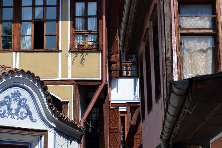 Plovdiv, 2ème ville de Bulgarie. Août 2012.