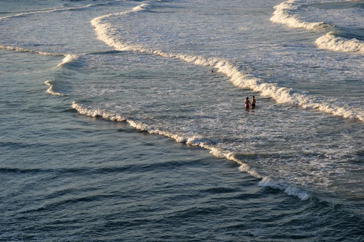 Sozopol, sur la côte de la mer Noire. Bulgarie. Août 2012.