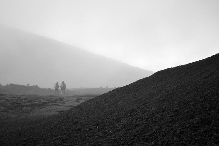 Massif du Piton de la Fournaise. La Réunion. Juillet 2013.