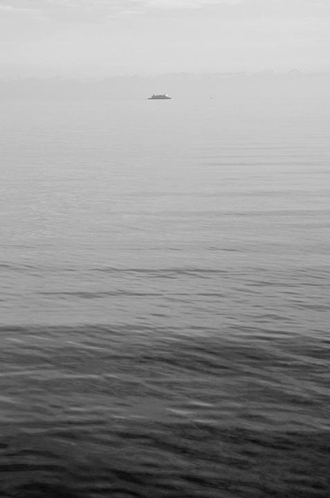 Ile de Mainau et lac de Constance.